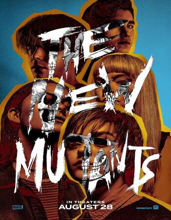 The New Mutants 2020 English 720p BRRip 800MB ESubs