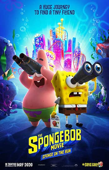 The Spongebob Movie Sponge on The Run 2020 Dual Audio Hindi 480p WEB-DL 280mb