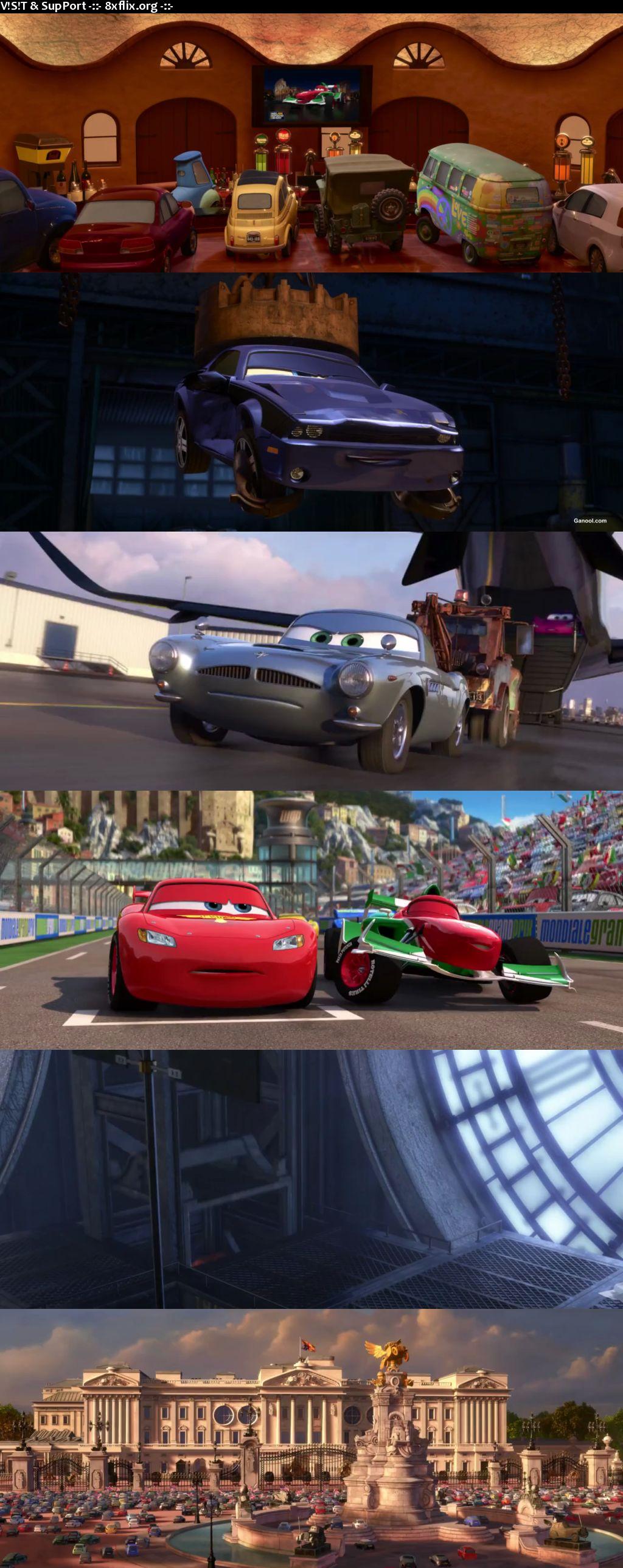 Cars 2 2011 Hindi English Dual Audio 720p 480p BluRay