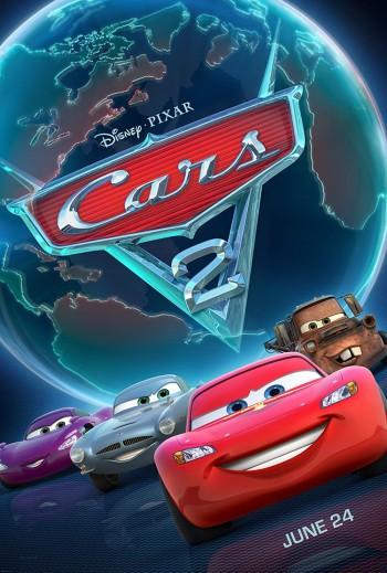 Cars 2 2011 Dual Audio Hindi English BRRip 720p 480p Movie Download