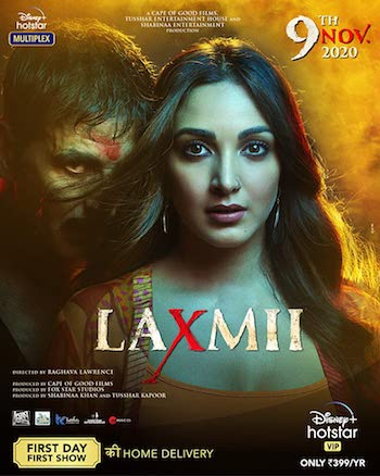 Laxmii 2020 Hindi 720p WEB-DL 1GB