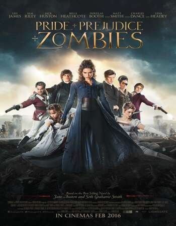 Pride and Prejudice and Zombies 2016 Hindi Dual Audio BRRip Full Movie 720p HEVC Download