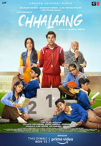 Chhalaang 2020 Hindi 720p WEB-DL 1GB