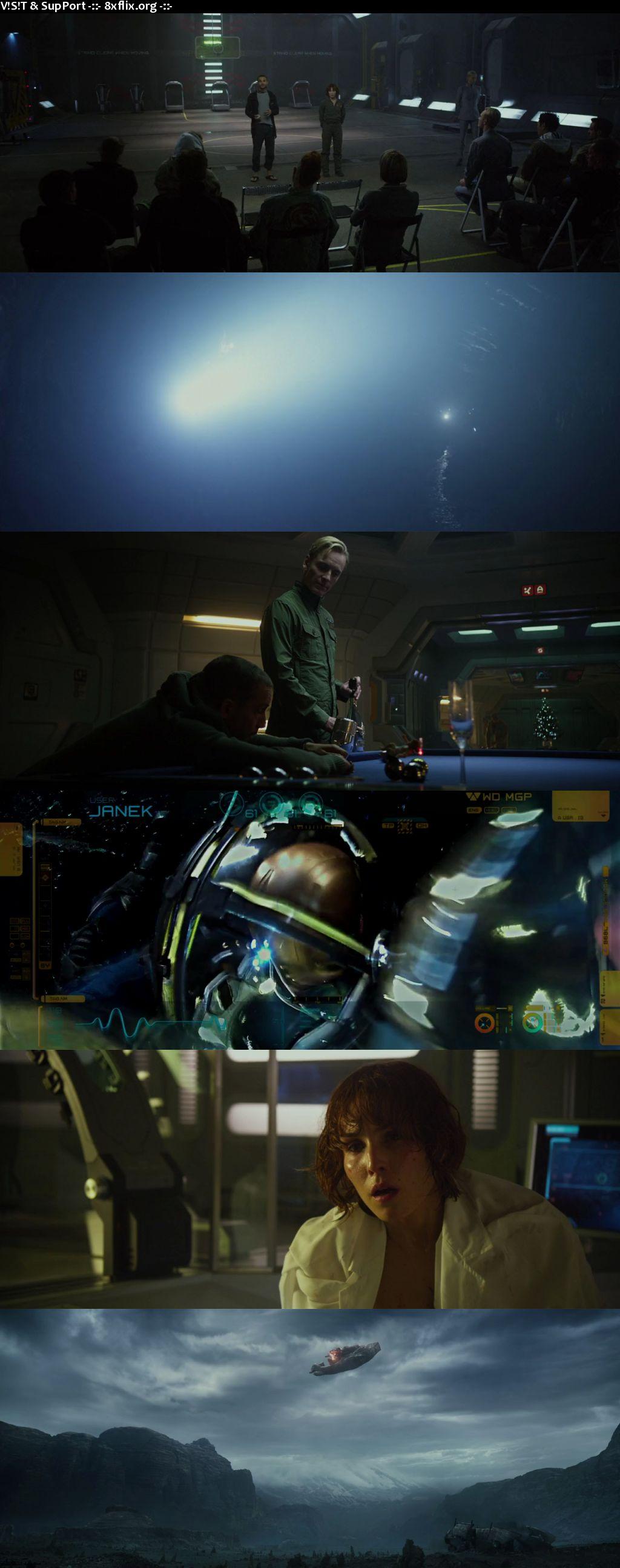 Prometheus 2012 Hindi English Dual Audio 720p 480p BluRay