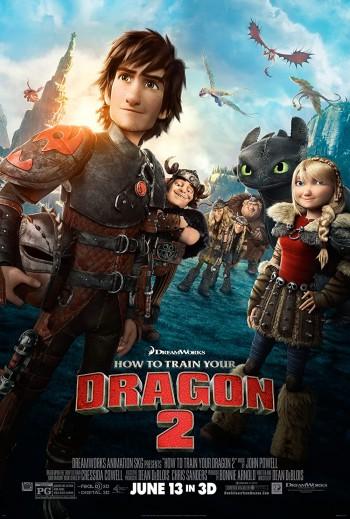 How To Train Your Dragon 2 2014 Dual Audio Hindi English BRRip 720p 480p Movie Download