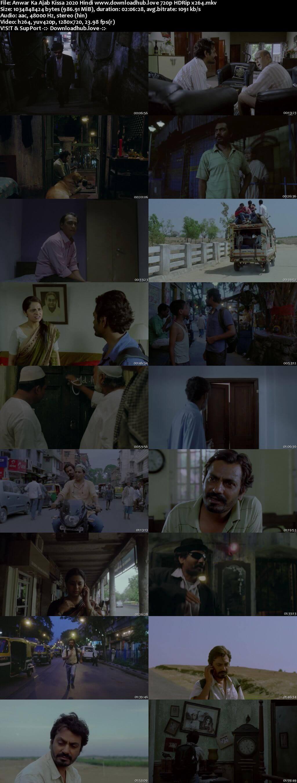 Anwar Ka Ajab Kissa 2020 Hindi 720p HDRip x264