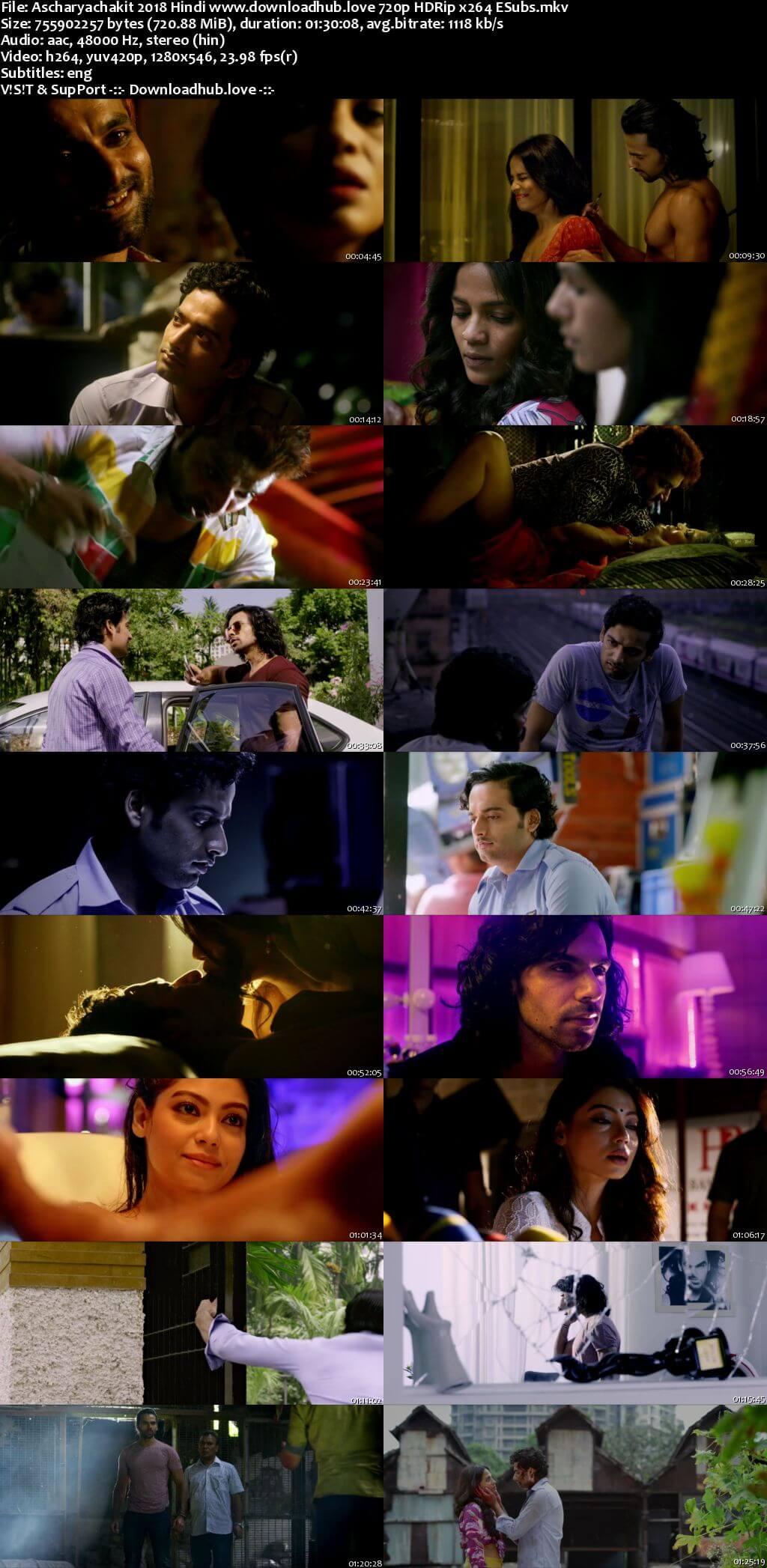 Ascharyachakit! 2018 Hindi 720p HDRip ESubs