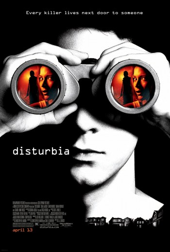 Disturbia 2007 Dual Audio Hindi English BRRip 720p 480p Movie Download