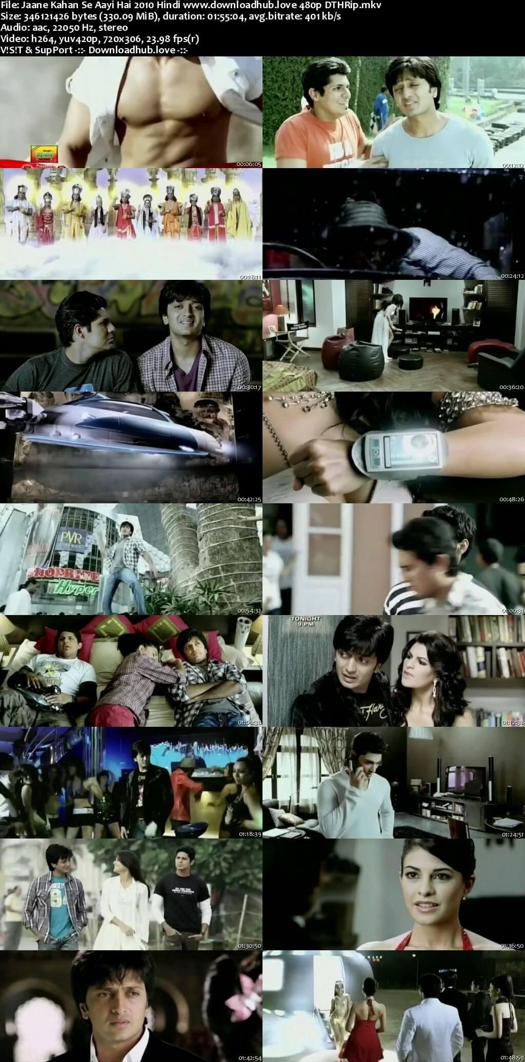 Jaane Kahan Se Aayi Hai 2010 Hindi 330MB DTHRip 480p