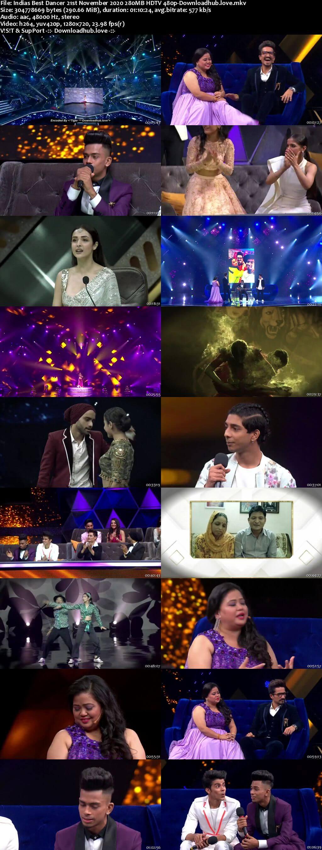 Indias Best Dancer 21 November 2020 Episode 47 HDTV 480p
