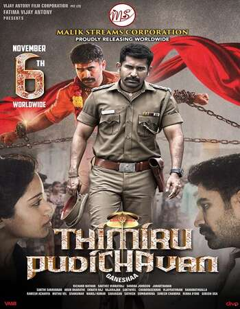 Thimiru Pudichavan 2018 Hindi Dual Audio 750MB UNCUT HDRip 720p ESubs HEVC