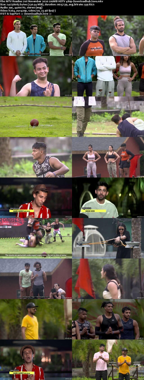 MTV Roadies 21st November 2020 200MB HDTV 480p