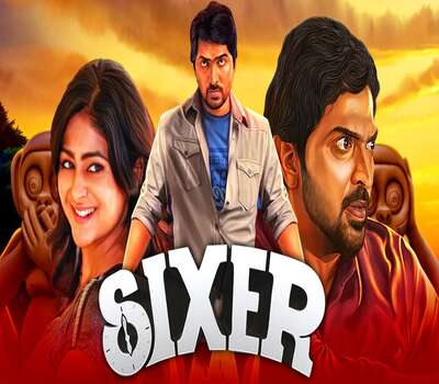 Sixer 2020 Hindi Dubbed 480p HDRip 300mb