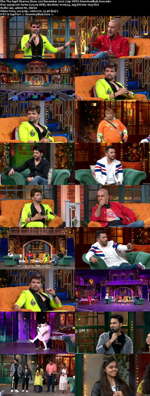 The Kapil Sharma Show 21 November 2020 Episode 160 HDTV 720p 480p