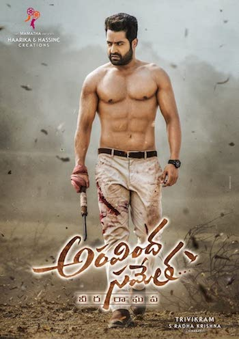 Aravinda Sametha Veera Raghava 2018 UNCUT Dual Audio Hindi 480p HDRip 500MB