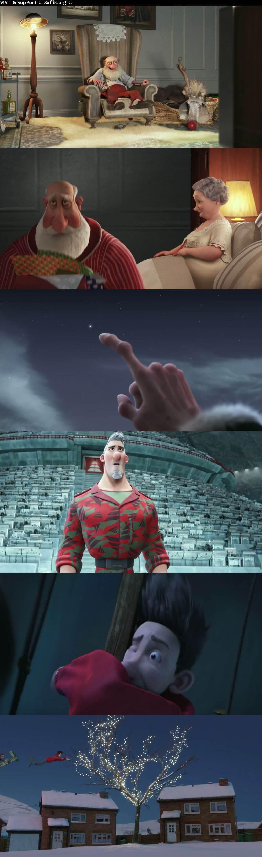 Arthur Christmas 2011 Hindi English Dual Audio 720p 480p BluRay