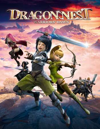 Dragon Nest Warriors Dawn 2014 Hindi Dual Audio 720p BluRay ESubs