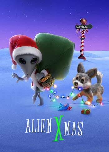 Alien Xmas 2020 Dual Audio Hindi 720p WEB-DL 350mb