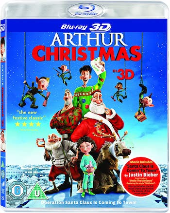 Arthur Christmas 2011 Dual Audio Hindi 720p BluRay 850mb