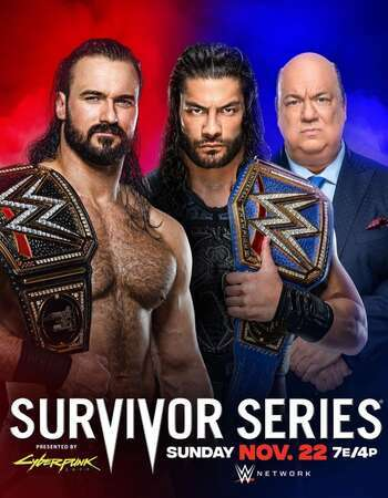 WWE Survivor Series 2020 PPV WEBRip 720p 480p x264 800MB