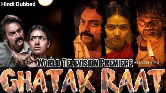 Ghatak Raat 2020 Hindi Dubbed 720p HDRip 800mb