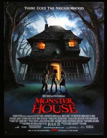 Monster House 2006 Hindi Dual Audio 300MB BluRay 480p ESubs