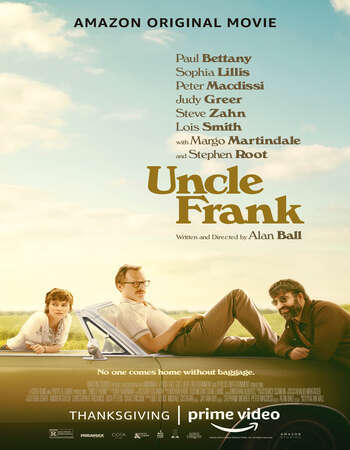 Uncle Frank 2020 English 720p Web-DL 800MB MSubs