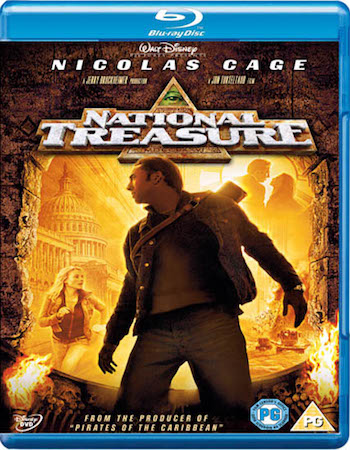 National Treasure 2004 Dual Audio Hindi 480p BluRay 400MB