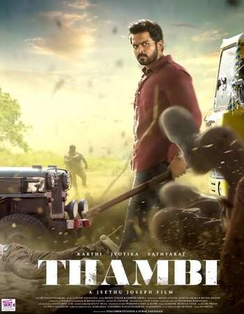 Thambi 2019 Hindi Dual Audio 720p UNCUT HDRip ESubs