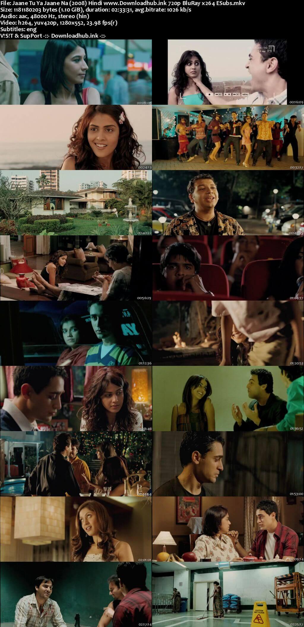 Jaane Tu Ya Jaane Na 2008 Hindi 720p BluRay ESubs