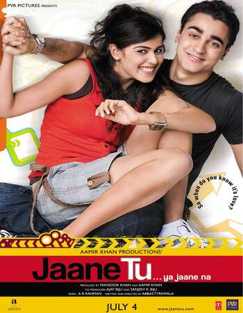 Jaane Tu Ya Jaane Na 2008 Full Hindi Movie 720p BRRip Free Download