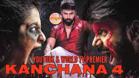 Kanchana 4 2020 Hindi Dubbed 480p HDRip 300mb