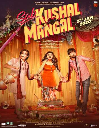 Sab Kushal Mangal 2020 Hindi 350MB HDRip 480p ESubs