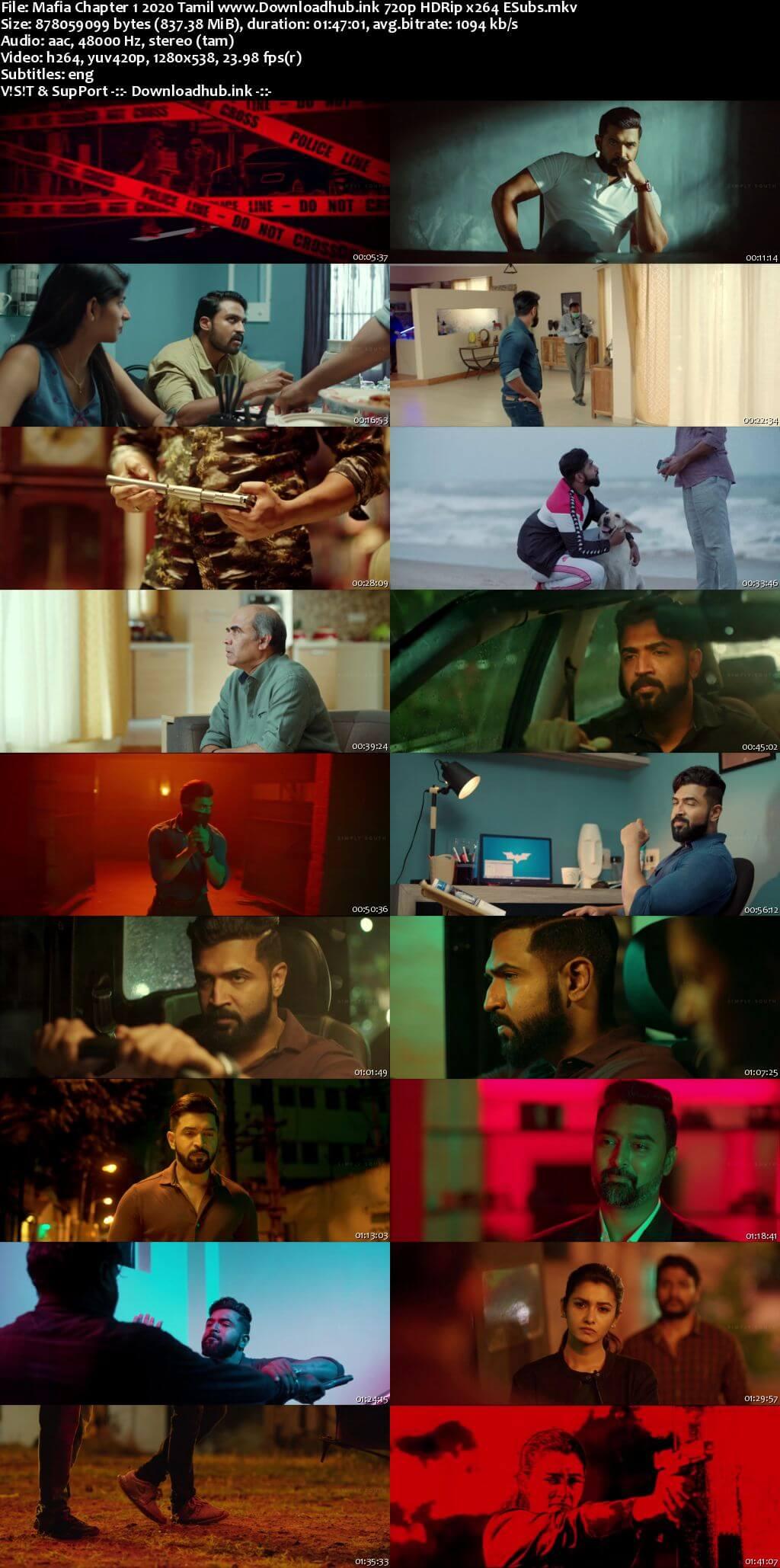 Mafia Chapter 1 2020 Tamil 720p HDRip ESubs