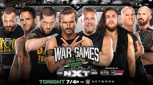 WWE NXT TakeOver War Games 6th December 2020 720p 700MB PPV WEBRip 480p