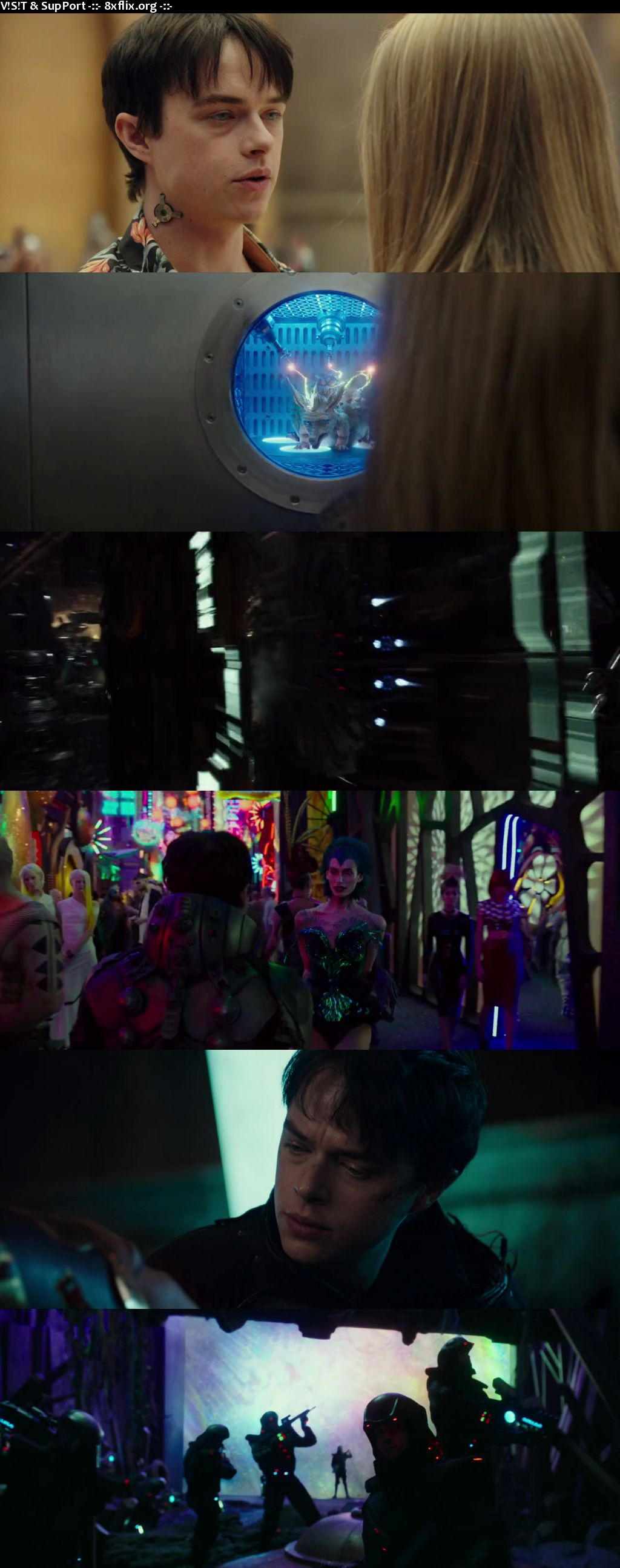 Valerian and The City of A Thousand Planets 2017 Hindi English Dual Audio 720p 480p BluRay