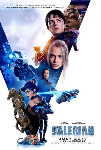 Valerian and The City of A Thousand Planets 2017 Dual Audio Hindi English BRRip 720p 480p Movie Download