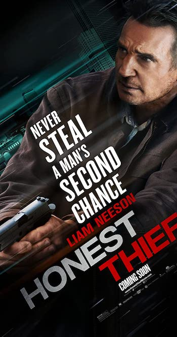 Honest Thief 2020 English 480p WEB-DL 300MB ESubs