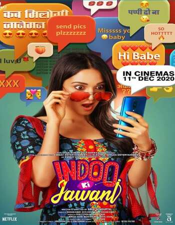 Indoo Ki Jawani 2020 Hindi 600MB HDRip 720p MSubs HEVC