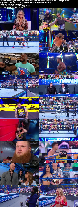 WWE Friday Night Smackdown 11th December 2020 720p 300MB HDTV 480p