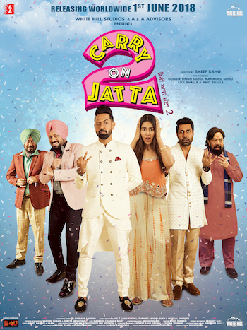 Carry On Jatta 2 2018 Hindi Dubbed 720p HDRip 950mb