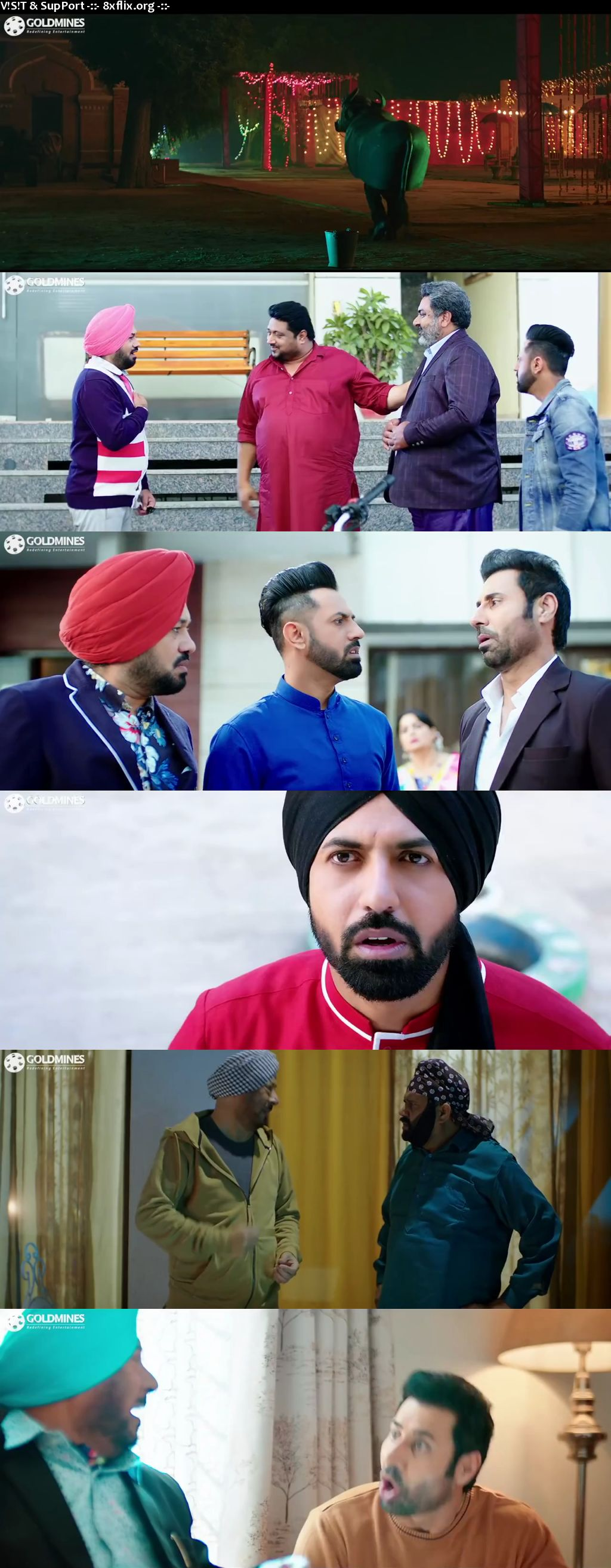 Carry On Jatta 2 2018 Full Movie Hindi Dubbed 720p 480p HDRip