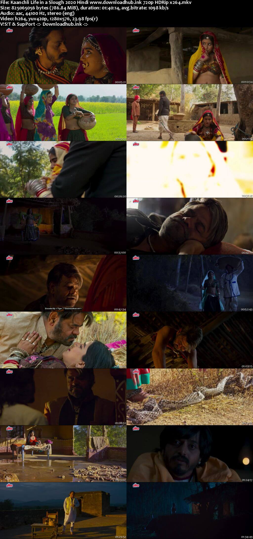 Kaanchli Life in a Slough 2020 Hindi 720p HDRip x264