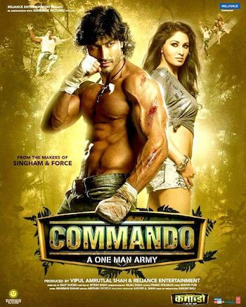 Commando 2013 Hindi Bluray Movie Download