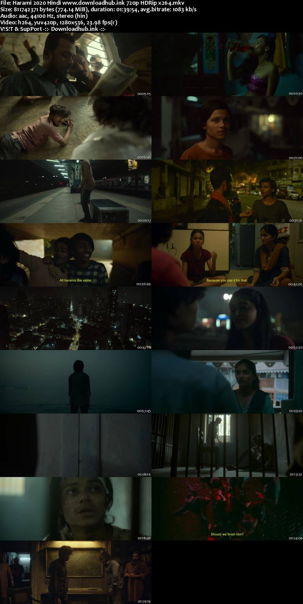 Harami 2020 Hindi 720p HDRip x264