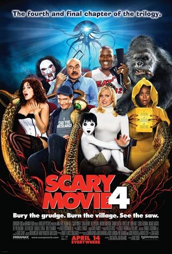 Scary Movie 4 2006 Dual Audio Hindi English BRRip 720p 480p Movie Download
