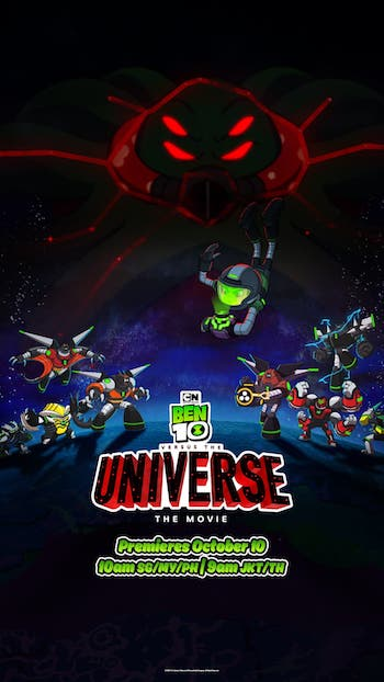 Ben 10 Versus The Universe the Movie 2020 Dual Audio Hindi Movie Download