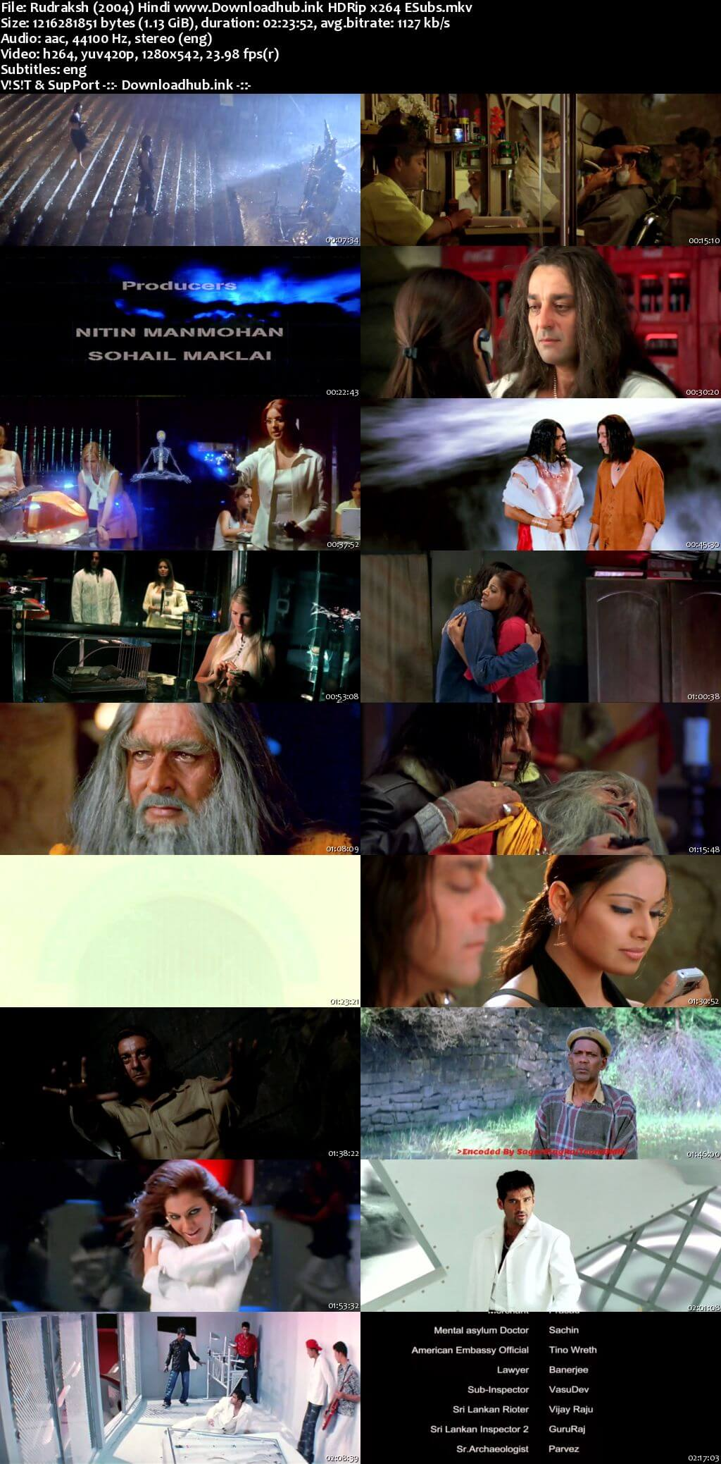 Rudraksh 2004 Hindi 720p HDRip ESubs