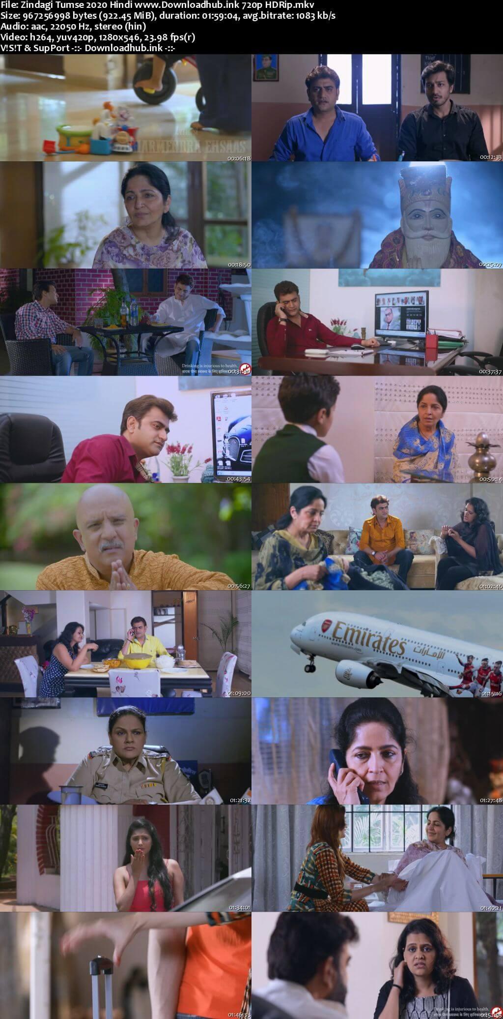 Zindagi Tumse 2020 Hindi 720p HDRip x264