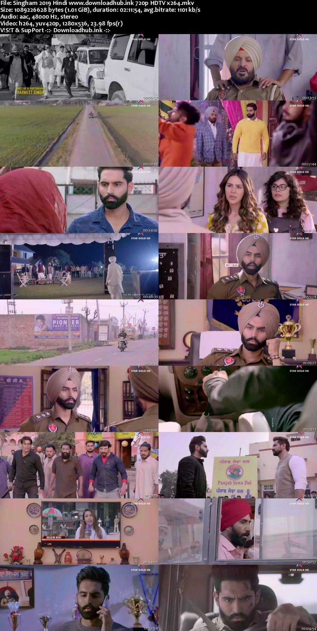 Singham 2019 Hindi 720p HDTV x264